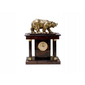 Часы настольные (обсидиан) 350х160х350 арт. ч-012