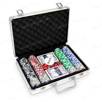 Набор для покера 200 фишек cards