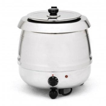 Супница (подогреватель супа) viatto sb-6000s, 400 вт, 10 л, 220 v, серебри