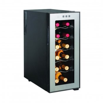 Винный шкаф gastrorag jc-33c, 33 л, 12 бутылок х 0.75 л, +12 до +18°с, под