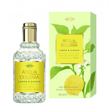 Одеколон 4711 acqua colonia vitalizing lemon & ginger, 50 мл