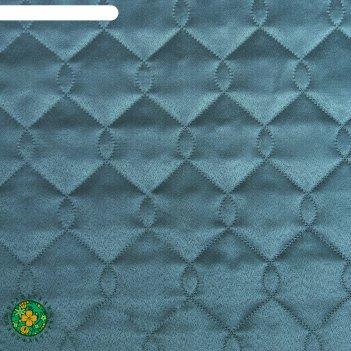 Покрывало ультрастеп этель дамаск teal solid 200х210 см.