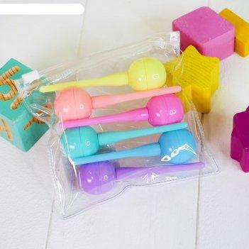 Фломастеры фигурные чупа-чупс набор 6 цветов