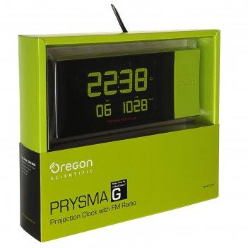 Метеостанция oregon scientific rrm222pn, проекция, fm-радио, радио-датчик,