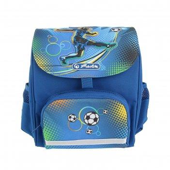 Ранец дошкольный herlitz mini softbag 24*26*14 мал soccer 50008155