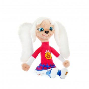 Мягкая музыкальная игрушка барбоскины роза 25 см озвучка st0061
