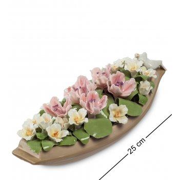 Cms-33/58 композиция лодка с цветами (pavone)