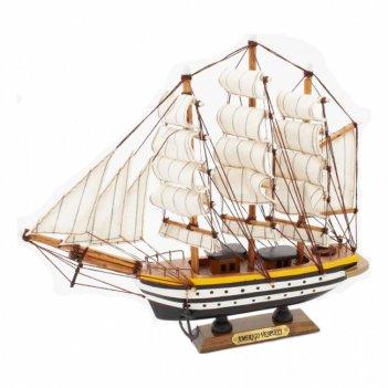 Модели парусных кораблей amerigo vespucci 22,5*21*5см