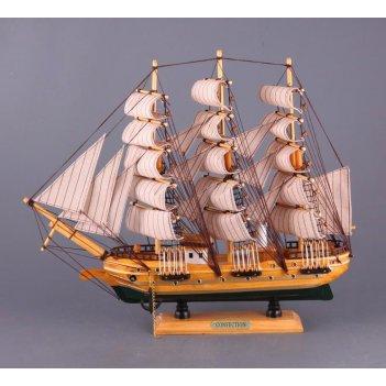 Модель корабля.высота=38 см длина=44 см