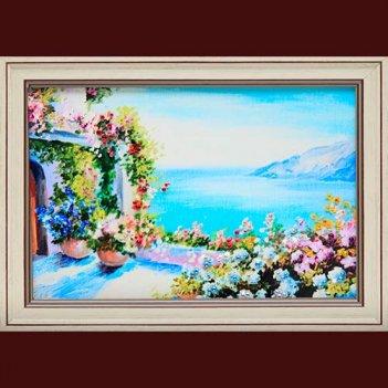 Картина сваровски - греческий дворик
