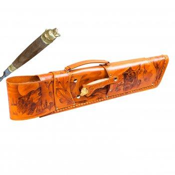 326нм6 шампурница подарочная «ружье»