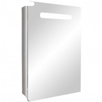 Шкаф-зеркало донна 60 с подсветкой левое