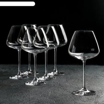 Набор бокалов для вина 590 мл bordeaux glass, 6 шт