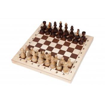 """Шахматы """"кировские"""" большие (россия, дерево, 43х22х6 см)"""