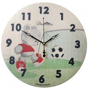Настенные часы  02-026 футбол