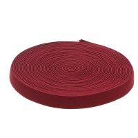 Резинка, ширина 15мм, 10м, цвет бордовый