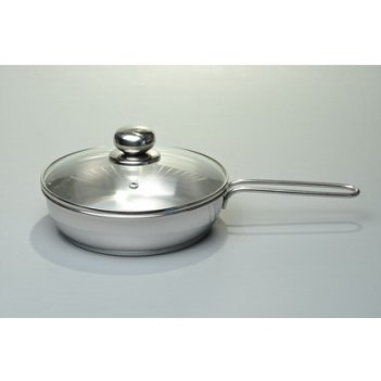Сковорода 20см классика-прима 1,л стеклянная крышка трс-3 тм амет