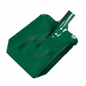 Лопата совковая, с планкой, стальная, тулейка 40 мм, без черенка