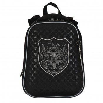 Рюкзак каркасный гарри поттер, 37 х 29 х 17, для мальчика, чёрный