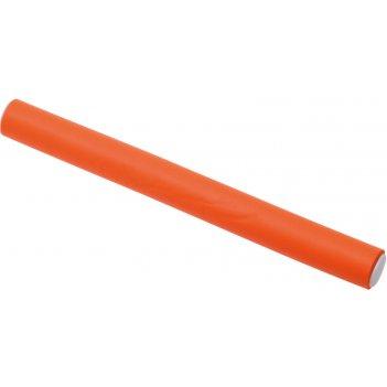Бигуди-бумеранги оранжевые d 18мм х 180мм (10 шт/упак)