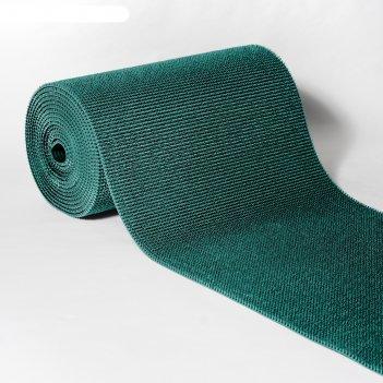 Покрытие ковровое щетинистое травка 0,9 х 15 м, рулон, аквамарин