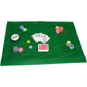 Сукно для покера на прорезиненной основе