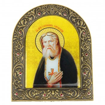 Икона серафим саровский на подставке