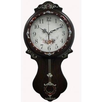 Настенные часы с маятником b&s jh-h206