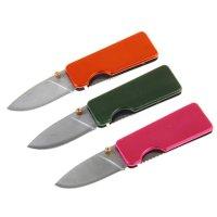 Нож перочинный складной с фиксатором матовость микс 2,5х1,1х11,3 см