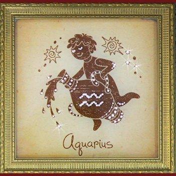 Картина сваровски - водолей малый