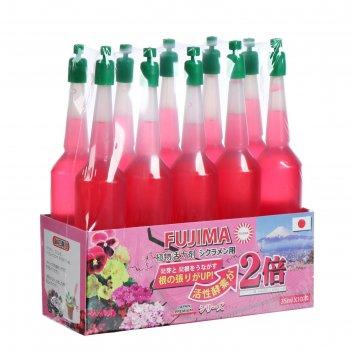 Удобрение японское fujima для цветущих (активация цветения), розовый, 35 м