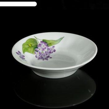 Блюдце «сирень», 80 мл, d=11 см