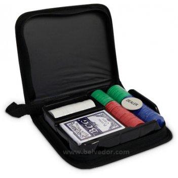 Покерный набор на 200 чипов в сумке