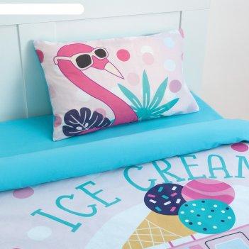 Постельное бельё «этель» 1.5 сп pink dreams 143*215 см, 150*214 см, 50*70