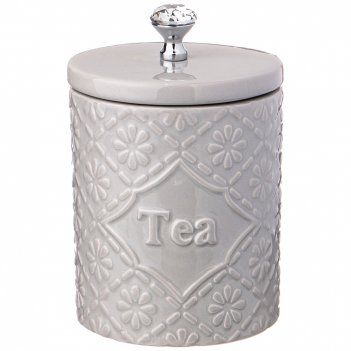Банка для чая коллекция crystal 11*11*14 см 800 мл