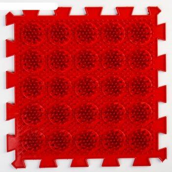 Детский массажный коврик жёсткие кактусы, цвет микс