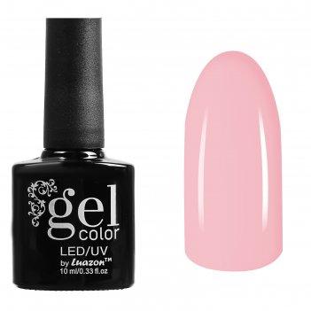 Гель-лак для ногтей трёхфазный led/uv, 10мл, цвет в1-006 розовый