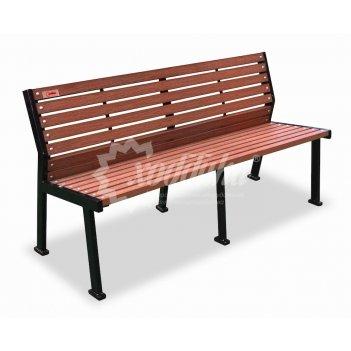 Скамейка с подогревом «модерн» 1,5 м