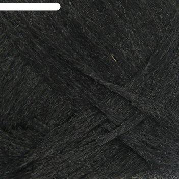 Пряжа носочная добавка 100% полипропилен 200м/50гр набор 10 шт (черный)