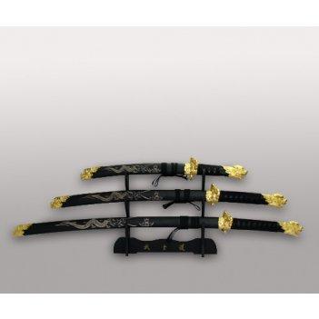 Набор самурайских мечей из 3шт.
