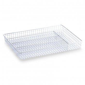 Лоток для столовых приборов zeller, решетка