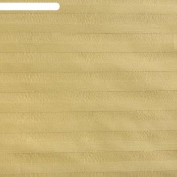 Пододеяльник этель basic 175*215 ± 3см, цв.оливковый , страйп-сатин,135 гр