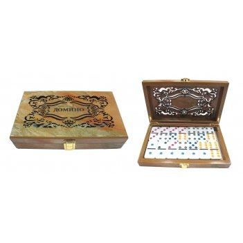 Настольная игра домино, 21х13х4 см