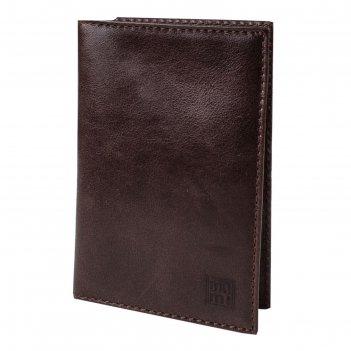 Обложка для паспорта, цвет коричневый, серия каир, арт.160-01