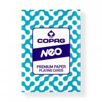 "Карты ""copag neo"", синяяя рубашка"