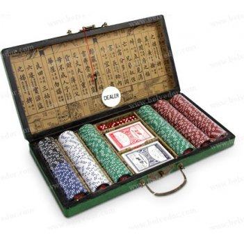 Набор для покера 300 чипов фишки удачи