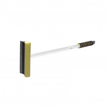 Водосгон главдор на алюминиевой ручке, 65 см, желтый