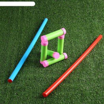 Игра городки из пластика 60 см, 16 см, d=0.22 см