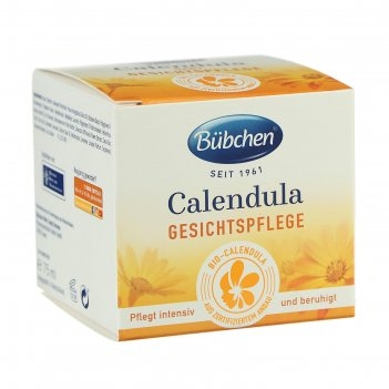 Крем для лица bubchen «календула», 75 мл
