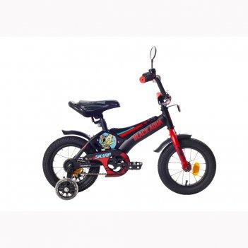 Kg1210 2-х колесный велосипед ba sharp 12; 1s со светящимися колесами (хак
